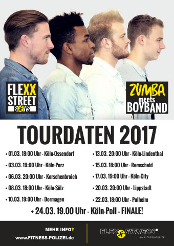 FlexxStreetBoys Tour 2017